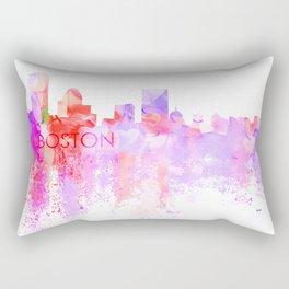 Love Boston Rectangular Pillow
