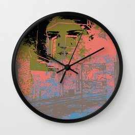 As I walk through the valley of the shadow of death Wall Clock