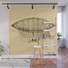 Airship Wall Mural