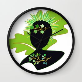 Our Forest Queen Wall Clock