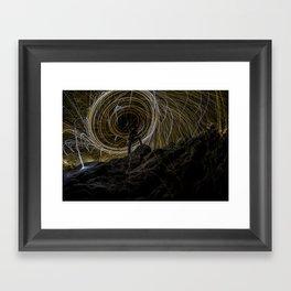 Rock Wool Framed Art Print