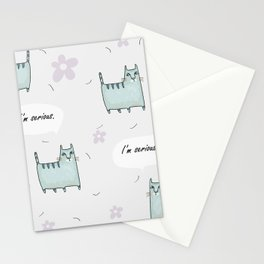 Catitude Stationery Cards