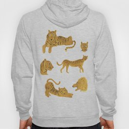 Tiger, Lion, Cheetah Hoody