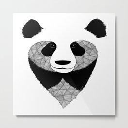 zoo et be panda Metal Print