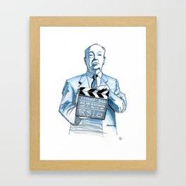 Action! Framed Art Print