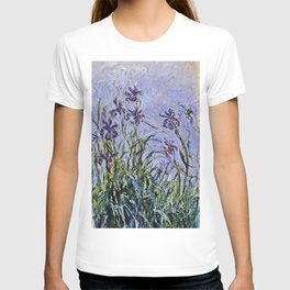 Claude Monet  -  Iris Mauves T-shirt
