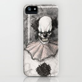 Clown Number 3 iPhone Case