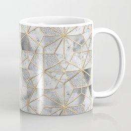 Modern gold geometric star flower pattern Coffee Mug