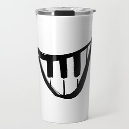 Forte piano smile Travel Mug
