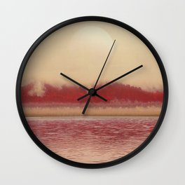Futuristic Visions 09 Wall Clock