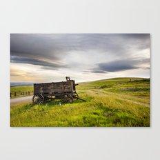 Western Wagon. Canvas Print
