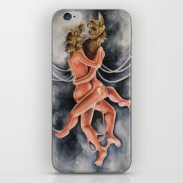 Snarled into Each Other iPhone Skin