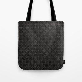Dark Trellis Tote Bag