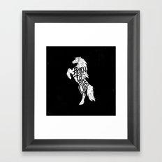 Born To Be Wild Framed Art Print
