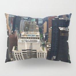 NewYork New York - A View Over Manhattan Pillow Sham