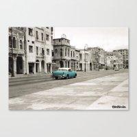 cuba Canvas Prints featuring Cuba by Mismoshis