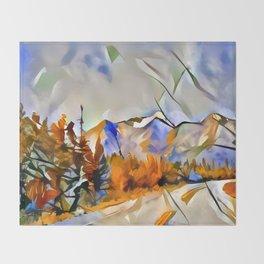 Yukon Gold Throw Blanket