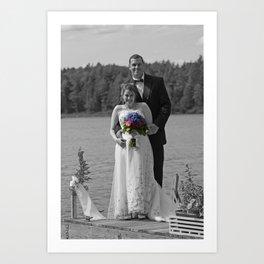 Adirondack Wedding Art Print
