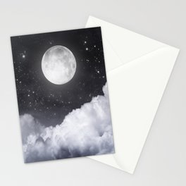 Touch of the moon II Stationery Cards