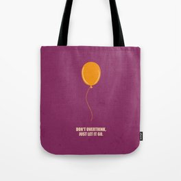 Lab No.4 -Don't Overthink Business Quotes Poster Tote Bag