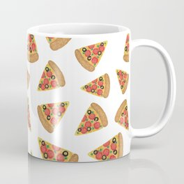 Pizza Party White Coffee Mug