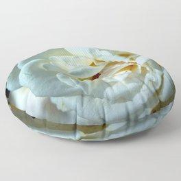 Phenomenal Gorgeous Large White Flower Zoom Ultra HD Floor Pillow