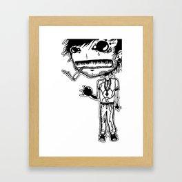 Full Body Figure Framed Art Print