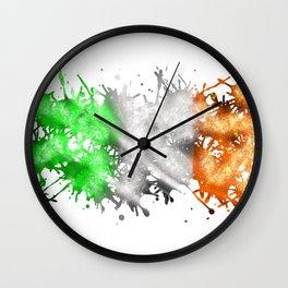 Irish Sparkle Wall Clock