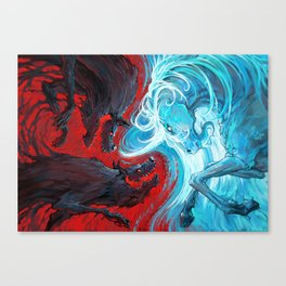 Equal Power Canvas Print