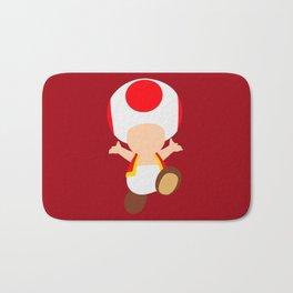 Red Toad (Super Mario) Bath Mat