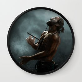 Jason Momoa Wall Clock