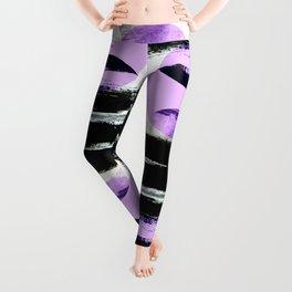 moonlight geometric design Leggings