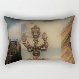 Paris Triptych 3 Rectangular Pillow