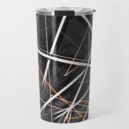 geometric interactions Travel Mug