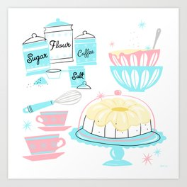 Sugar And Spice And Everything Nice Art Print