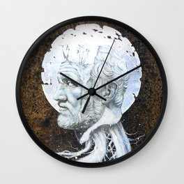 """The End of Reason II"" Wall Clock"