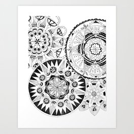 Mandala Series 02 Art Print