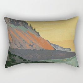 Five Islands Provincial Park Poster Rectangular Pillow