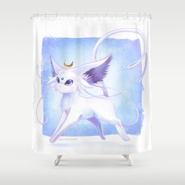 Lunar Espeon Shower Curtain