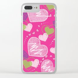 Be Mine Clear iPhone Case