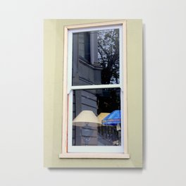 After The Laundry Room Fire Metal Print