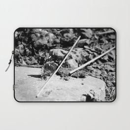 Black and White Beauty Laptop Sleeve