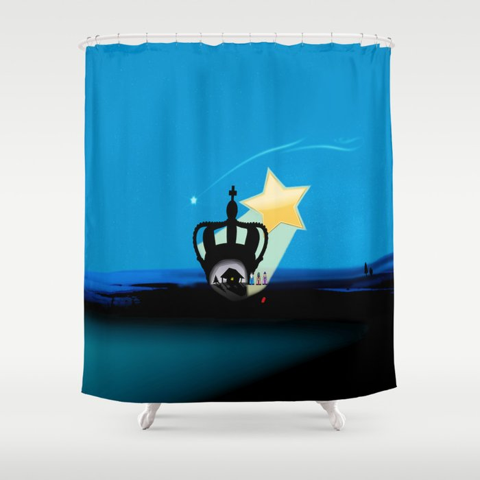 Jesus Shower Curtain By Timebunnygirl