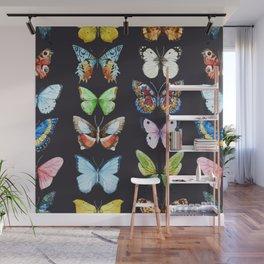 Butterfly Pattern 06 Wall Mural