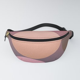 Pink Shadows Moon Fanny Pack