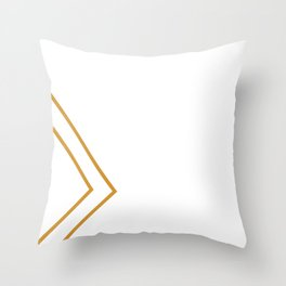 Minimalist Luxury Throw Pillow