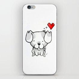 Cute Kawaii Puppy Dog iPhone Skin