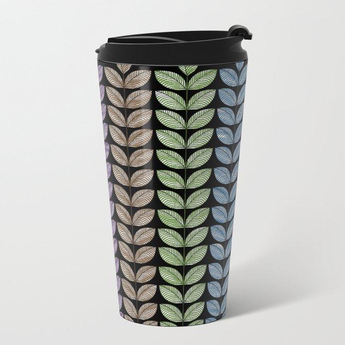 Leaf 15 Metal Travel Mug