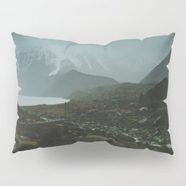 Hiking Around the Mountains & Valleys of New Zealand Pillow Sham