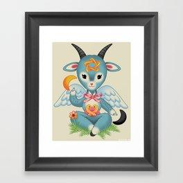 Baby's First Baphomet Framed Art Print